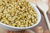 Cooked soybeans — Stock Photo