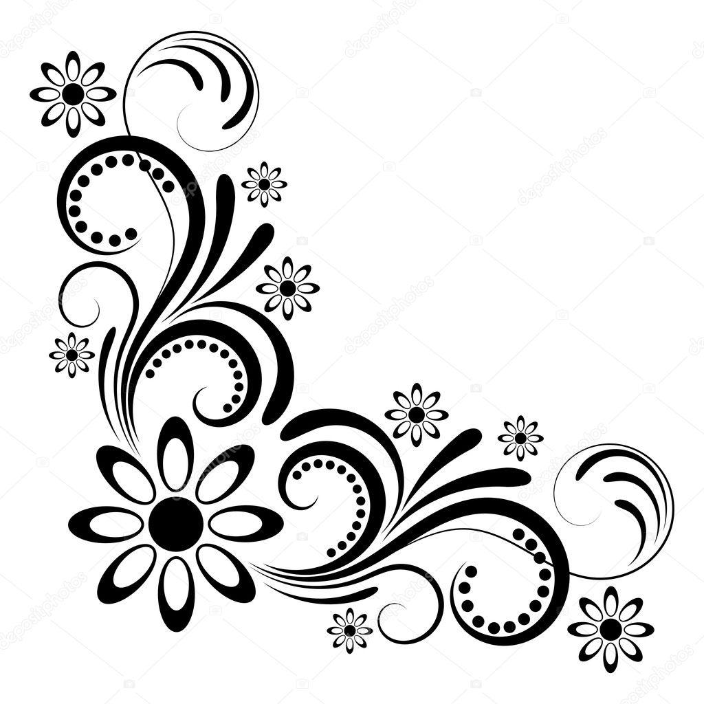 Floral ornaments — Stock Photo © papkin #2709957