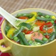 Diet vegetable soup — Stock Photo