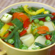 Stock Photo: Diet vegetable soup
