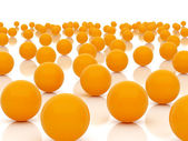 Orange spheres — Foto Stock