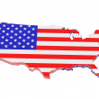 Map USA — Stock Photo #2760137