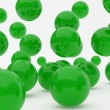 Green balls — Stock Photo #3118289