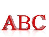 Abc — ストック写真