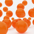 Orange balls — Stock Photo