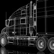 Lorry — Stockfoto