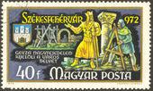 Stamp set thirty — Stock Photo