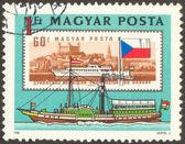 一套三十六枚邮票 — 图库照片