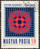 邮票集三十七个八个 — 图库照片