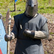 Reconstruction of knightly fight — Stock Photo #3220067