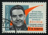 Poststämpeln — Stockfoto