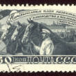 Vintage postage stamp set eighteen — Foto Stock