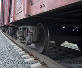 Rails set eight — Stock Photo