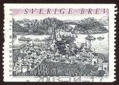 Postage stamp set four — Стоковое фото