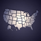 USA map — Stock Photo