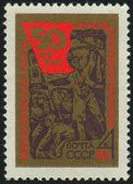 Timbro postale — Foto Stock