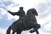 Monument queen Elizabeth set six — Stock Photo