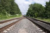 Rails set eighteen — Stock Photo