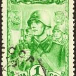 Postage stamp set ninety seven — Stock Photo