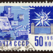 Postage stamp set thirty one — стоковое фото #3628934