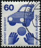 Postmark — Стоковое фото
