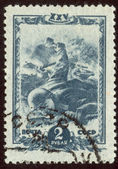 Postage stamp set ninety one — Stock Photo