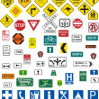 Traffic signs — Vetorial Stock #3628647