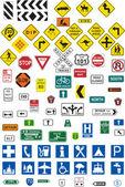 Panneaux de signalisation — Vecteur