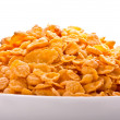 Goldish corn flakes - 图库照片