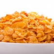 Goldish corn flakes - Stock fotografie