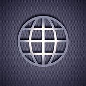 Metall symbol — Stockfoto