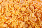 Goldish corn flakes — Stock Photo