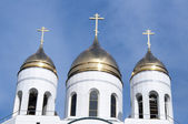 Russian cathedral — Stock Photo