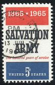 Stamp — 图库照片