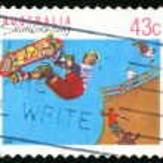 Stamp — Stock Photo #4354573