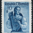 Stamp printed by Austria — Stock Photo