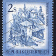 Stamp Austria — Stock Photo
