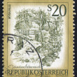 Stamp Austria — Stock Photo #4475960