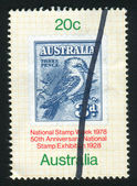 Stamp printed by Australia — Stock fotografie