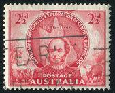 Stamp printed by Australia — Stock Photo