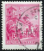 Známka vytištěna Rakouskem — Stock fotografie
