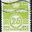 Stamp by Denmark — Stock Photo #4526064