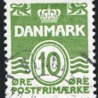 Stamp by Denmark — Stock Photo #4526077