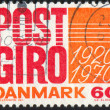 Stock Photo: Stamp by Denmark