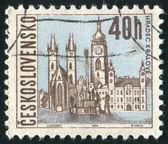 Stamp Czechoslovakia — Stock Photo