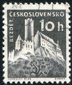 邮票捷克斯洛伐克 — 图库照片