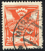Stamp Czechoslovakia — Stock Photo
