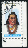 Stamp Davaar Island — Stock Photo