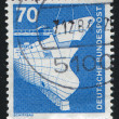 Stock Photo: Stamp printed by Germany