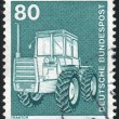 Stamp printed by Germany — Stock Photo #4540489